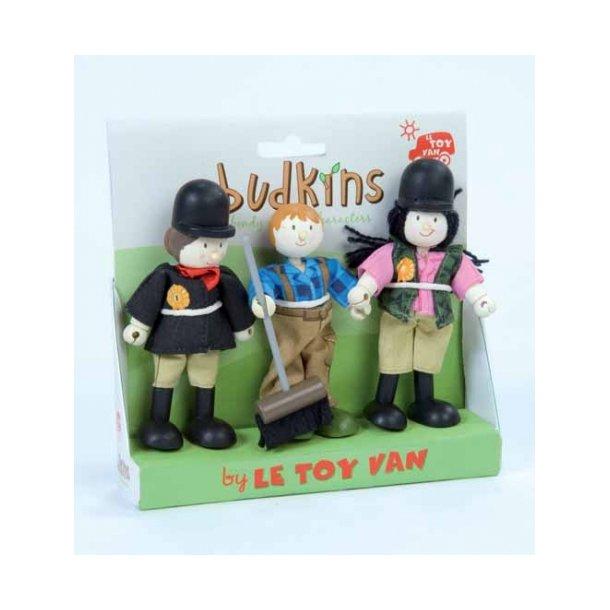 Le Toy Van - Dukke, ride piger og stalddreng