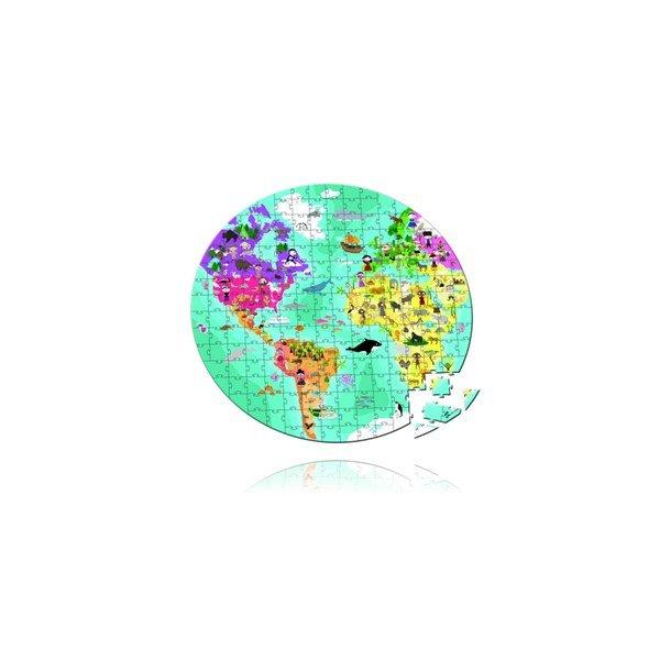 Puslespil - Verdenskort