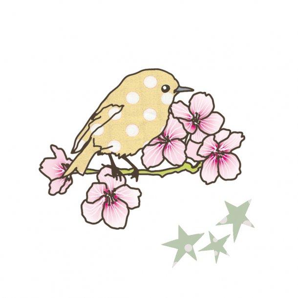 Mimilou- Smart strygemærke - fugl