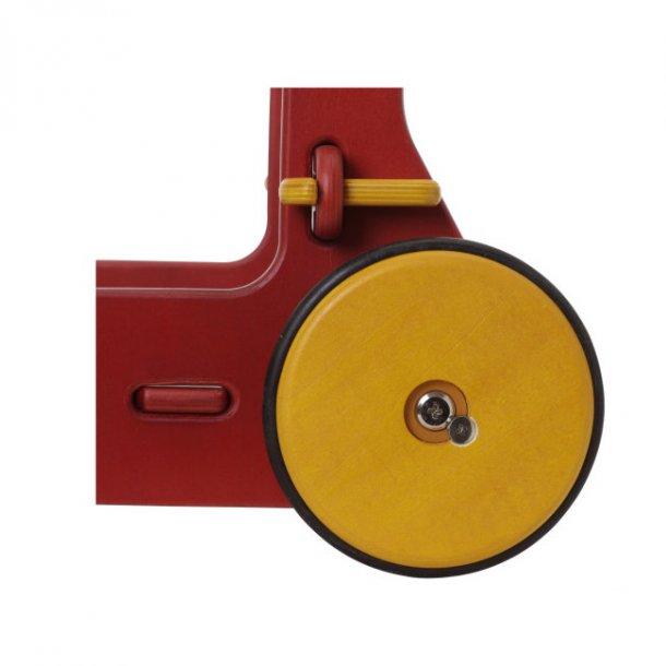 Rød gåvogn