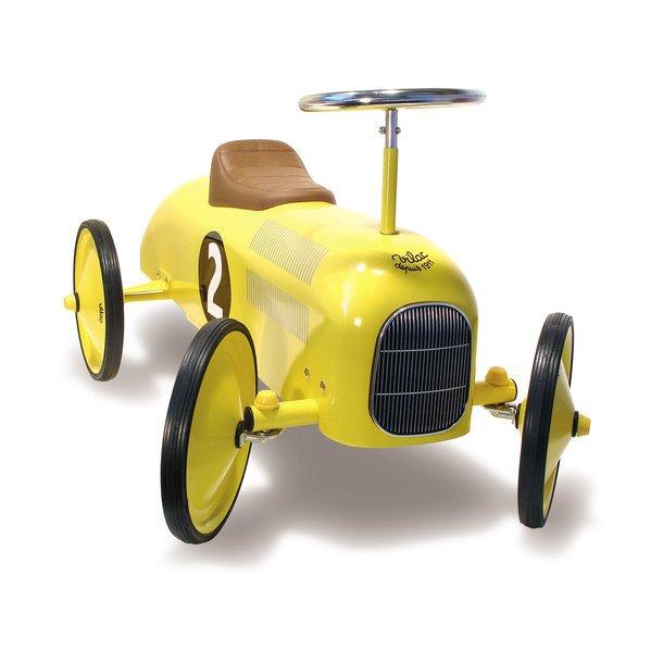 Luksus gåbil i gul