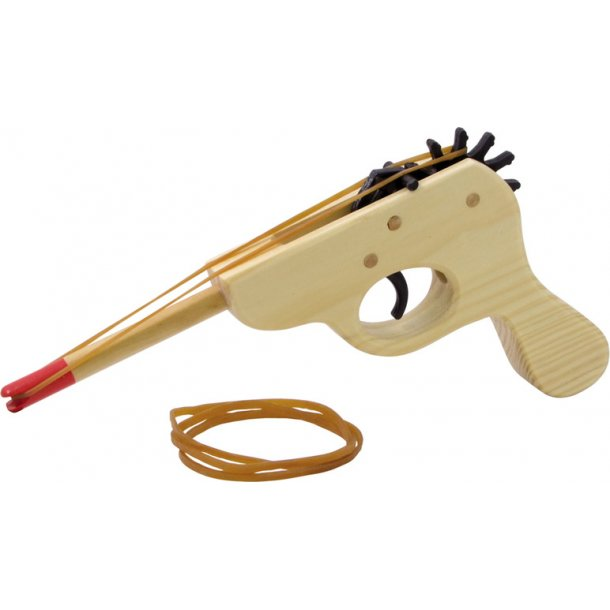 Elastik pistol / slangebøsse