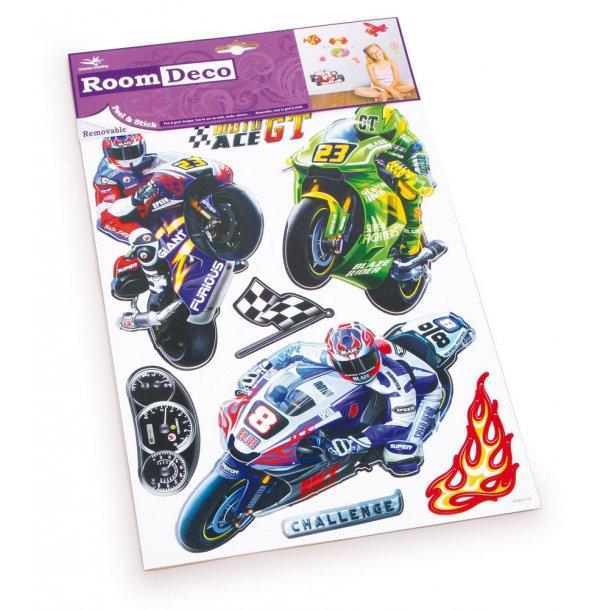 Wallsticker med Motorcykler