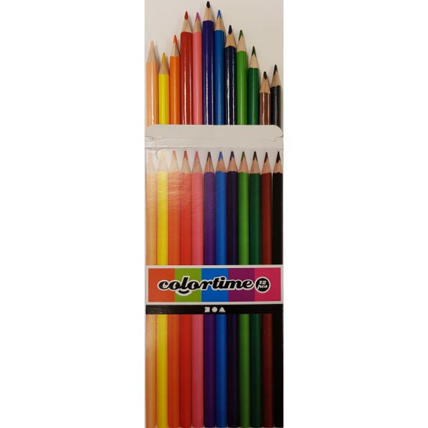 Colortime Farveblyanter 12 stk