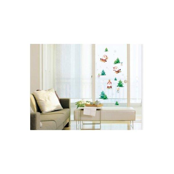 Wallsticker med juletræ