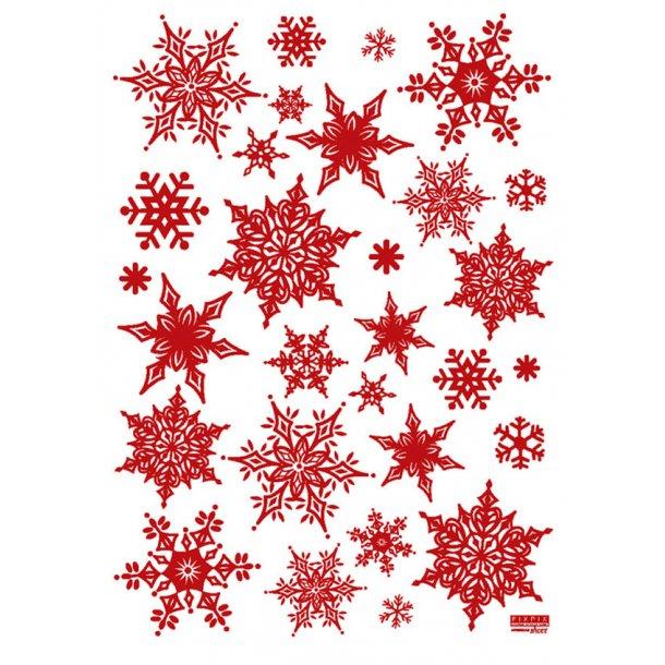 Glitrende snefnug, rød