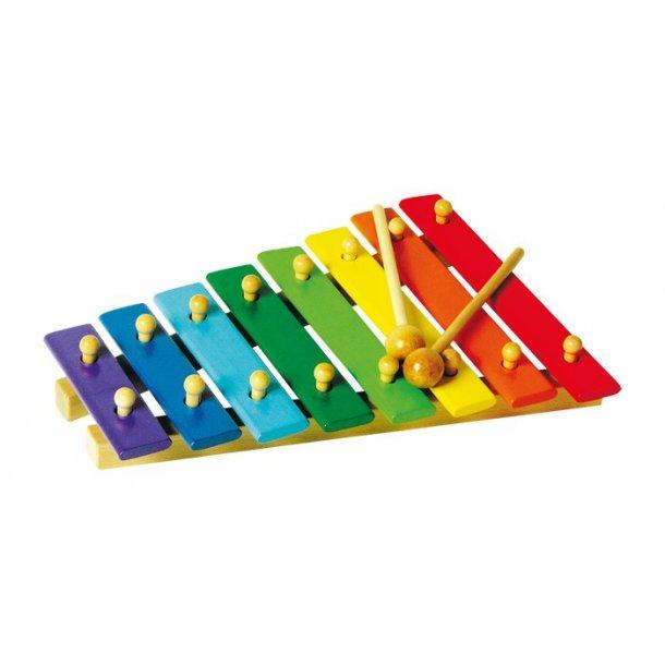 Farvede Xylofon, 8 toner
