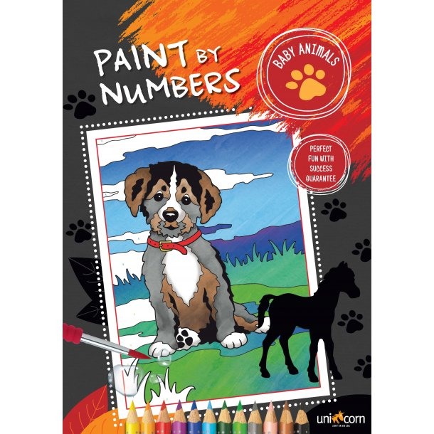 Paint by Numbers - Dyreunger