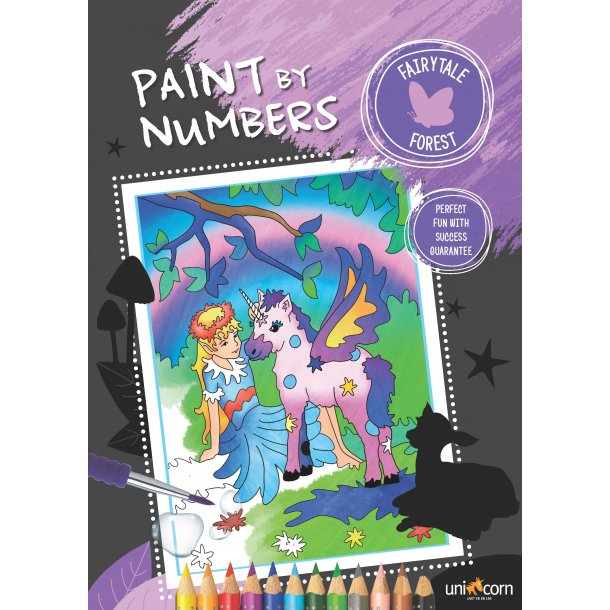 Paint by Numbers - Eventyrskoven