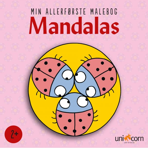 Min allerførste Mandalas Malebog