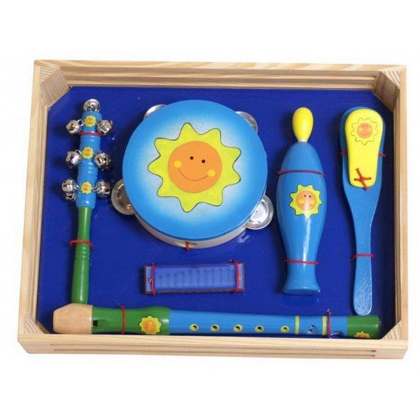 Musiksæt med 6 instrumenter