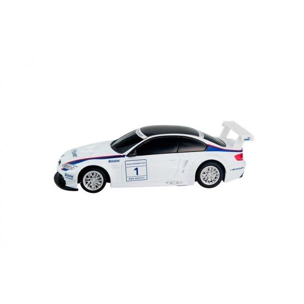Fjernstyret hvid BMW M3