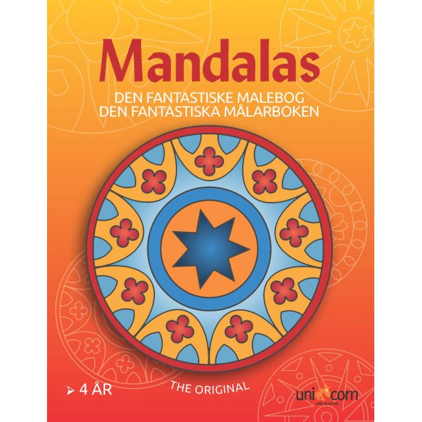 Den Fantastiske Malebog Mandalas - fra 4 år