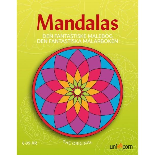 Den Fantastiske Malebog Mandalas - fra 6 år