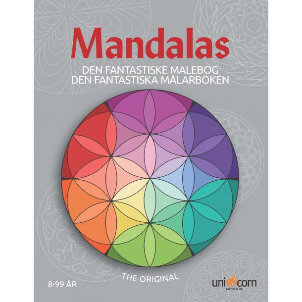 Den Fantastiske Malebog Mandalas - fra 8 år