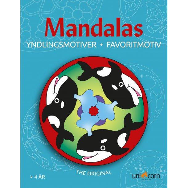 Mandalas Yndlingsmotiver - fra 4 år