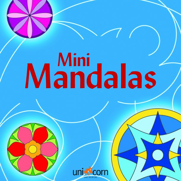 Mini Mandalas - Blå