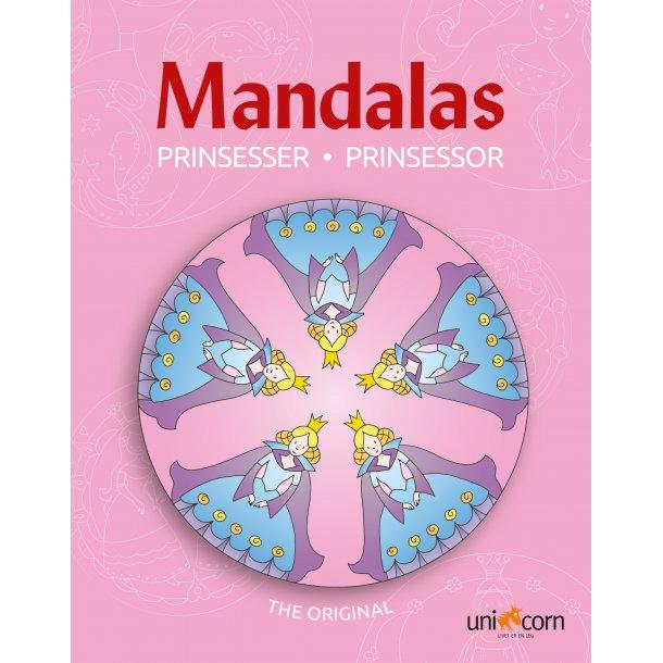 Mandalas med Prinsesser