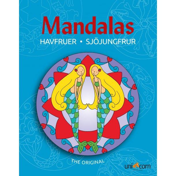 Mandalas med Havfruer
