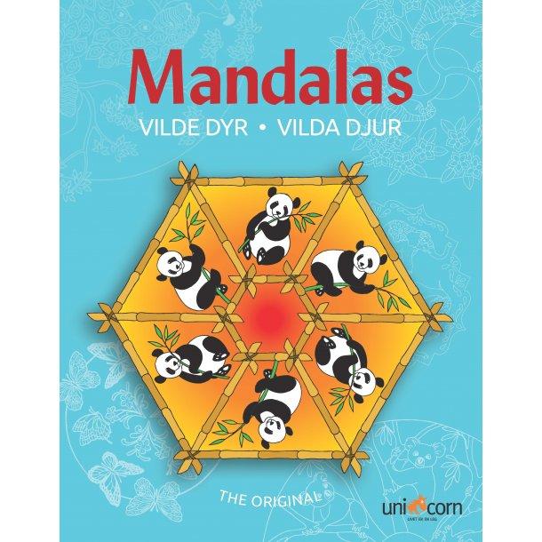 Mandalas med Vilde Dyr