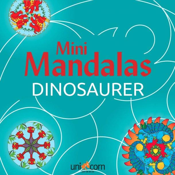 Mini Mandalas Dinosaurer
