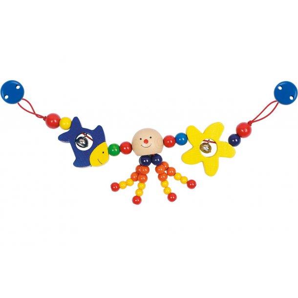 Barnevognskæde med blæksprutte fra Goki