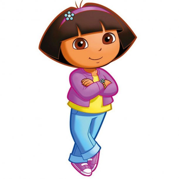 Gigant Wallsticker Dora fra filmen Dora The Explorer