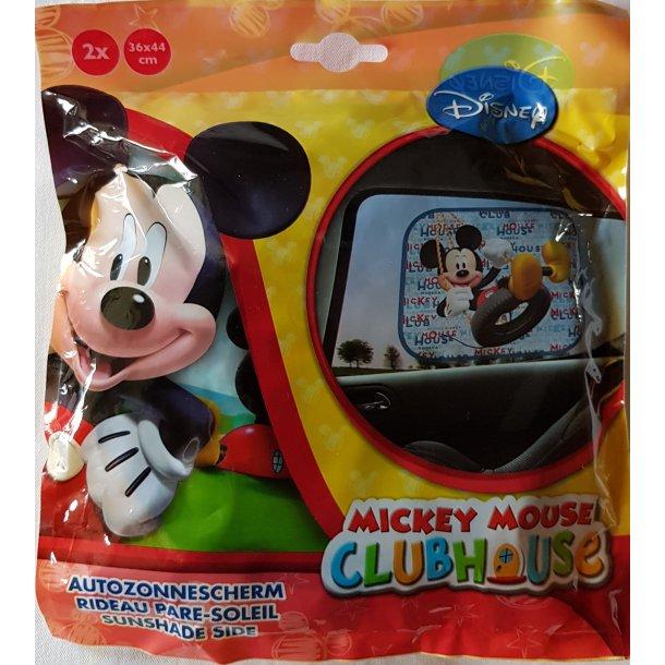 Solskærm til bilen med Mickey Mouse