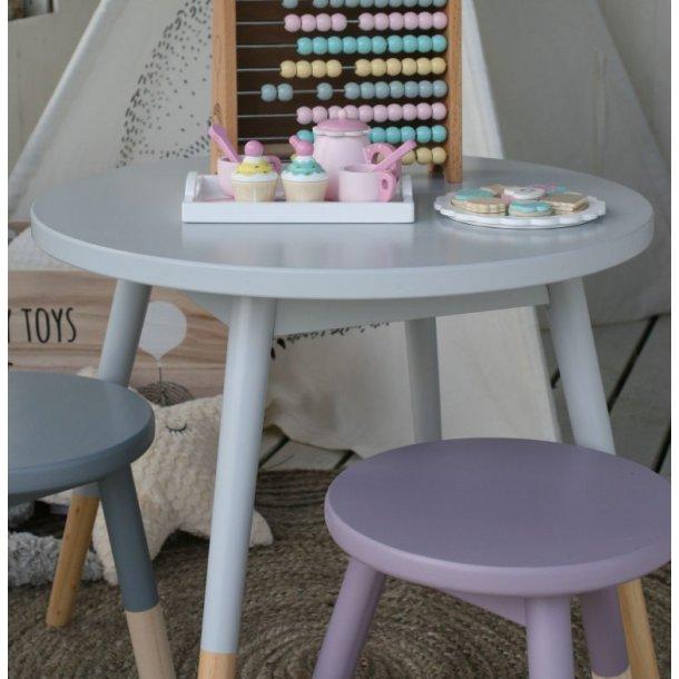 Rundt bord i grå fra Bloomingville Mini