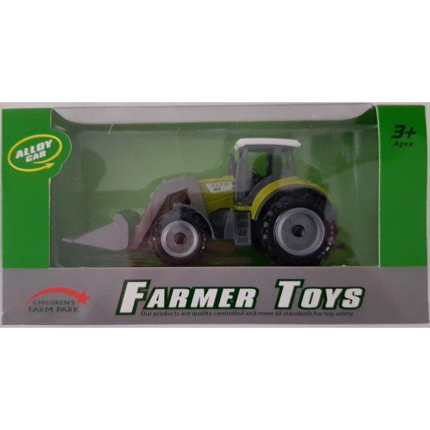 Traktor med frontlæsser