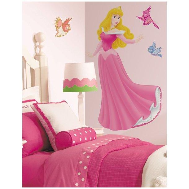 Mega Wallstickers: Sleeping Beauty.