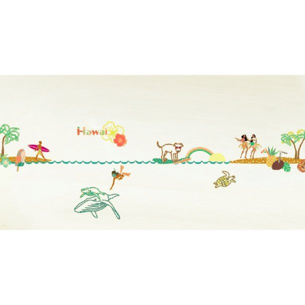 Wallsticker Hawaii, bort