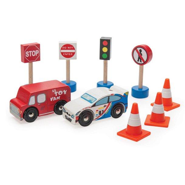 Bilsæt fra Le toy van