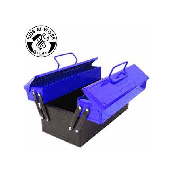 Blå værktøjskasse