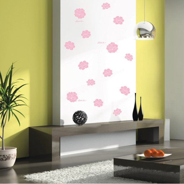 Blomsterhoveder, lyserød