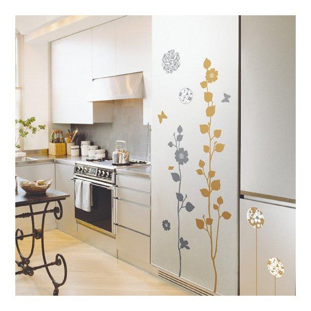 Guld - og Sølv blomster