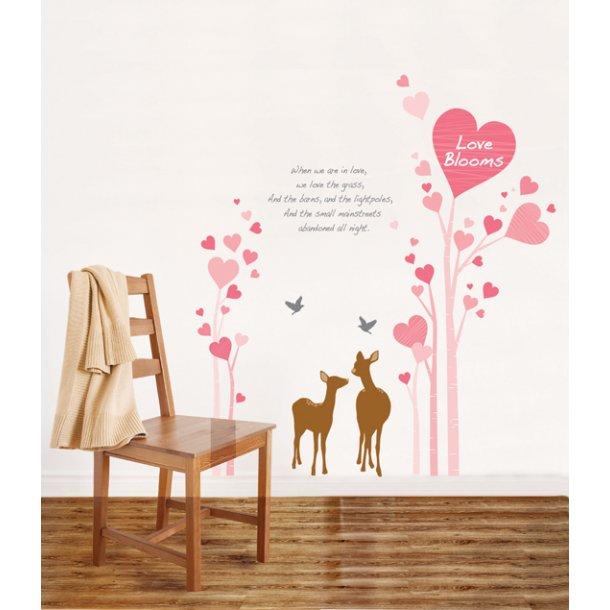 Kærlighedstræ og bambier