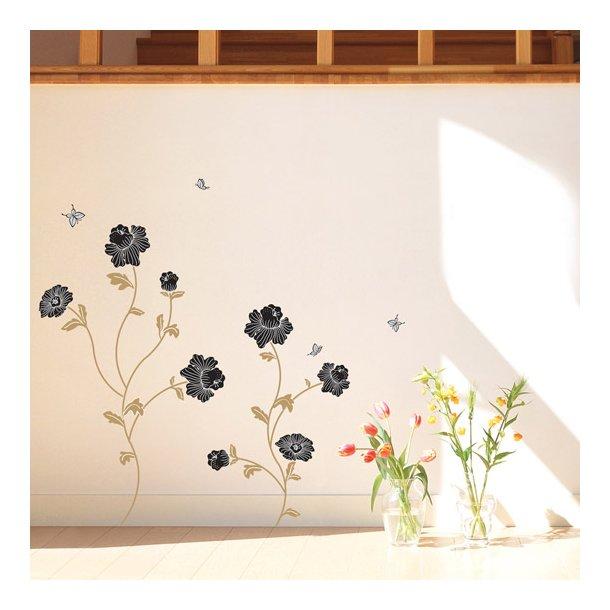 Velour - Sorte blomster