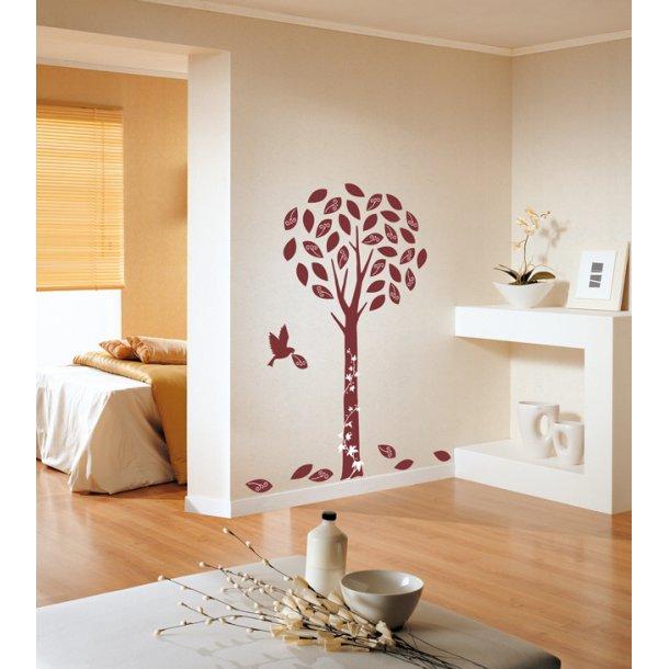 Velour - Vinrødt træ