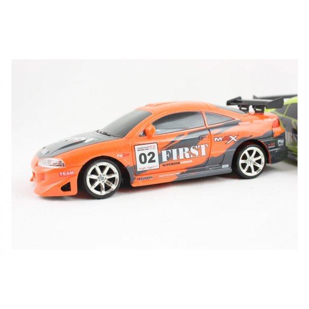 Fjernstyret Mitsubishi Eclipse-orange