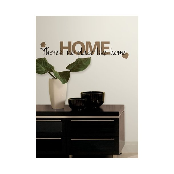 Wallstickers - no place like HOME