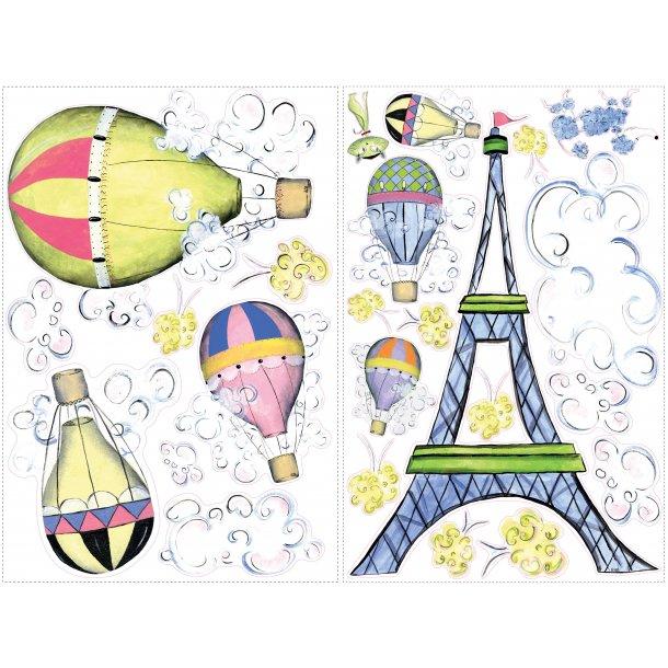 Wallstickers, Eiffeltårnet