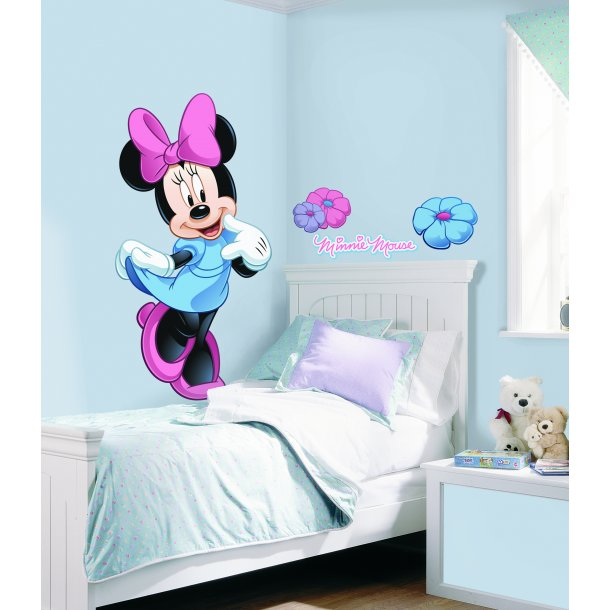 Disney wallstickers med Minnie Mouse