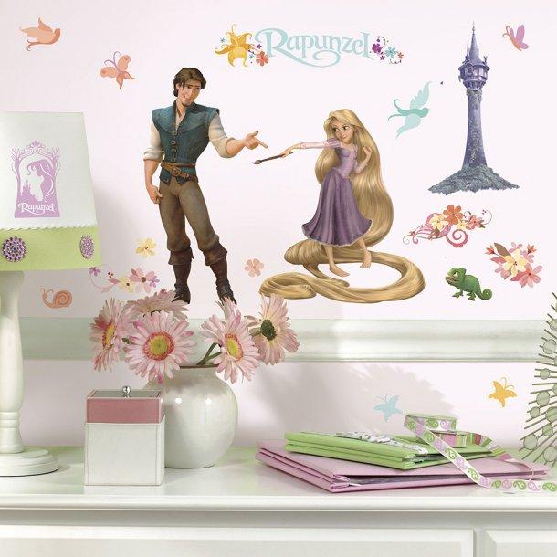 Wallsticker, Rapunzel fra Disney