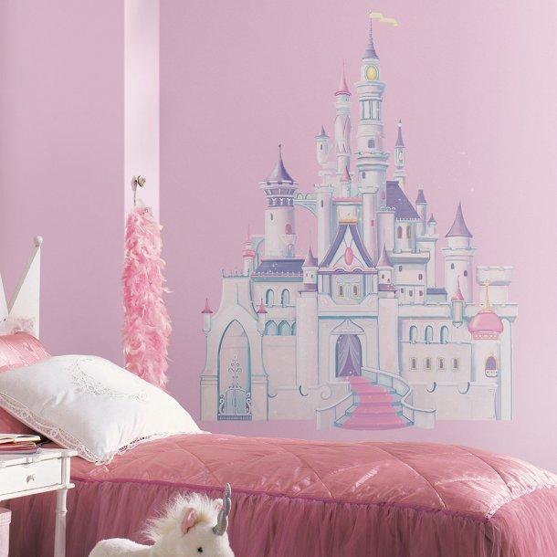 Wallsticker fra Disney, stort prinsesseslot