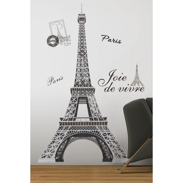 Wallstickers - Eiffeltårnet