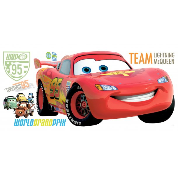 Wallstickers, Lynet McQueen Cars 2