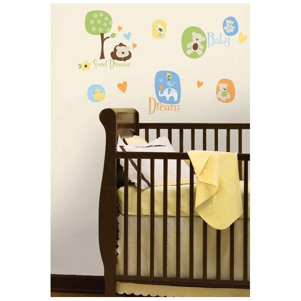 Wallstickers til det moderne babyværelse
