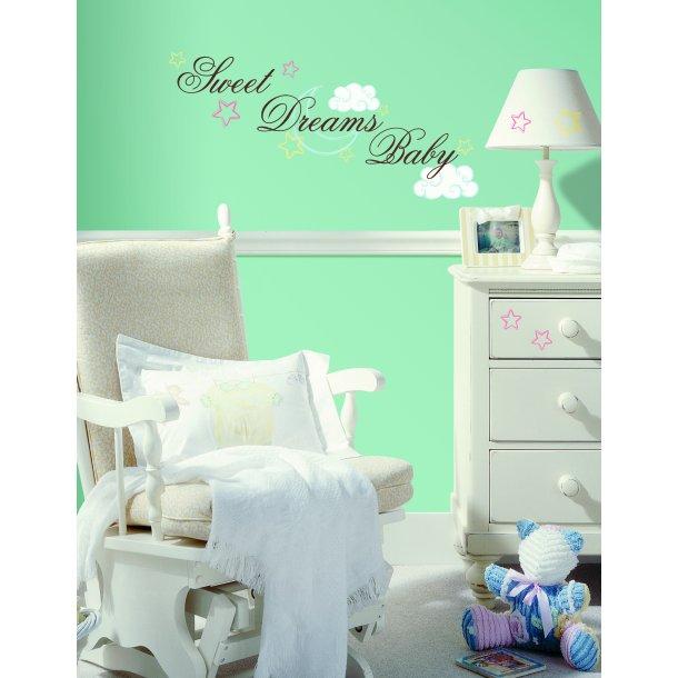 Wallstickers sweet dreams
