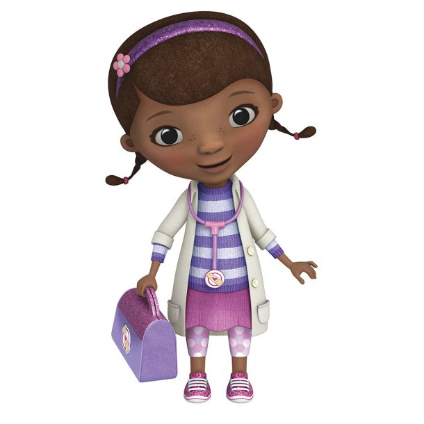 Stor Wallsticker Disney Junior's Doktor McStuffin fra Disney